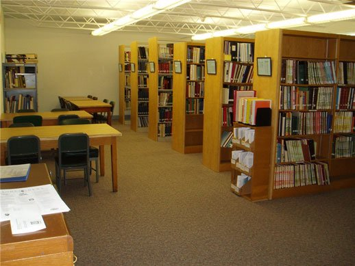 SSGHS Library_Stacks