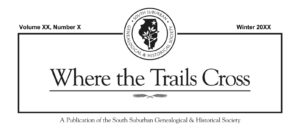 SSGHS Where the Trails Cross cover
